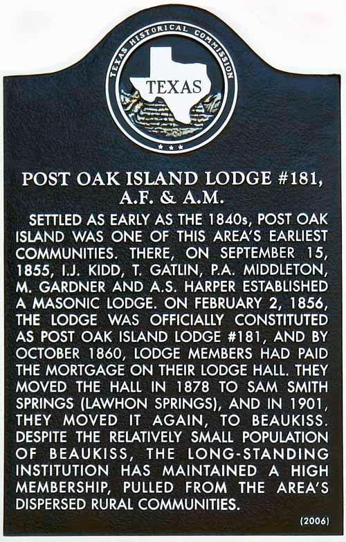 Beaukiss_post_oak_island_masonic