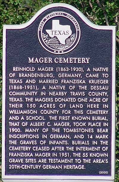 Mager_Cemetery_plaque