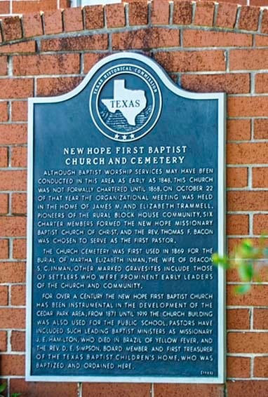 New_Hope_First_Baptist_Church