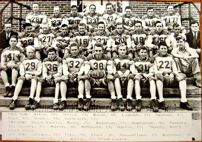 Football Team of 1940