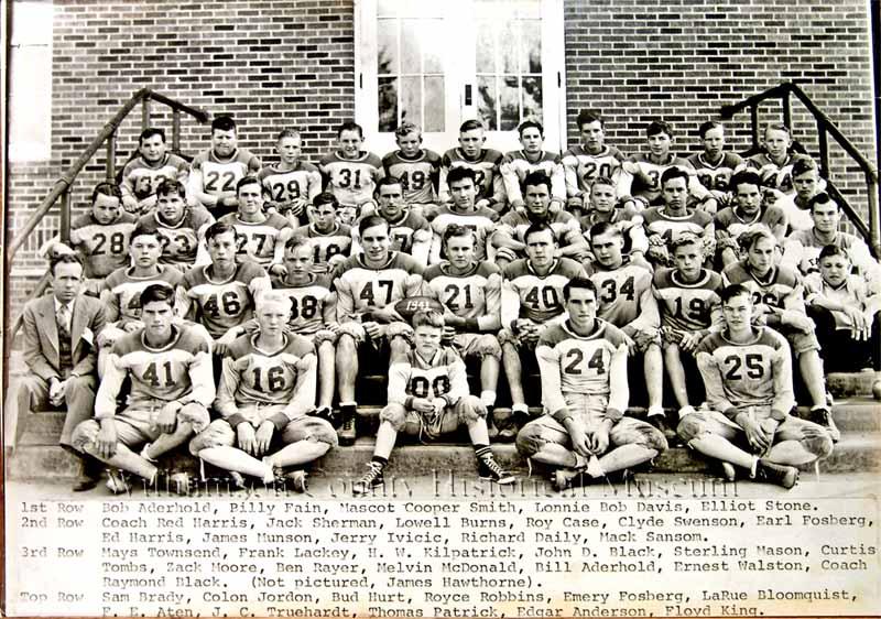 Football Team of 1941