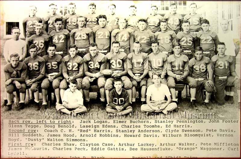 Football Team of 1938