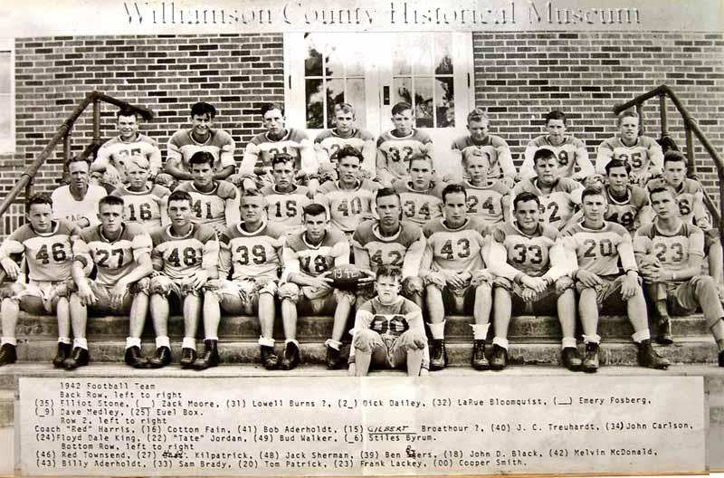 Football Team of 1942