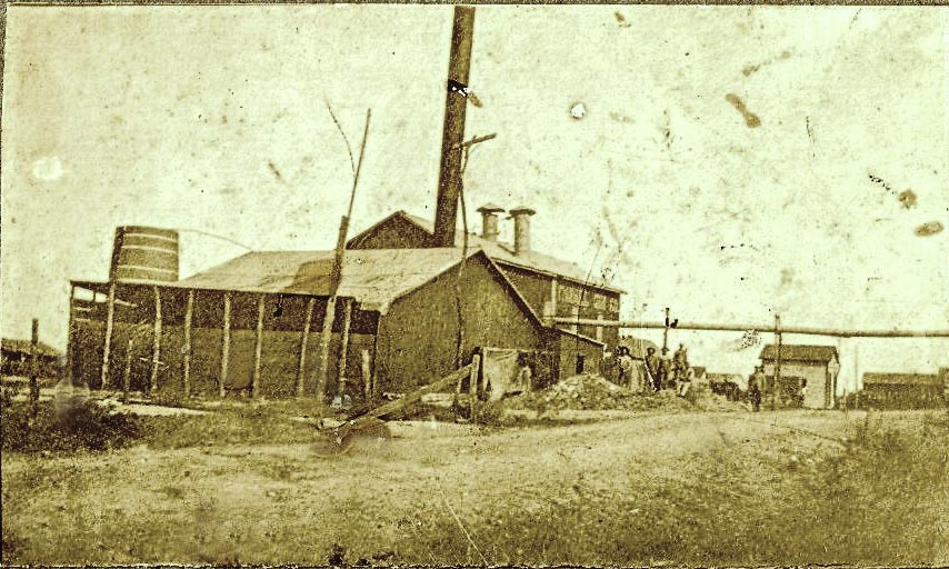 Cotton Gin 1909-1910<br>Photograph Thanks to John Riehs