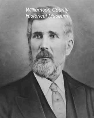 W. J. Anderson Chief Justice 1852-1855