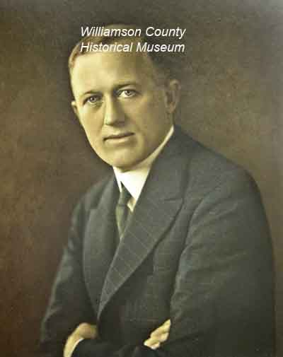 Dan Moody County Attny. 1920-21Criminal Attny.1922-23 State Attny. Gen. 1925-26 Governor of TX 1927-1931