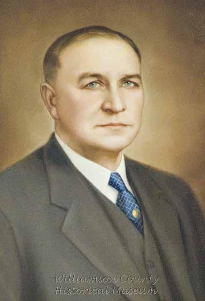 Richard Critz County judge 1910-19 Texas Supreme Court 1925-1955 Supreme Court Judge 1955-1964