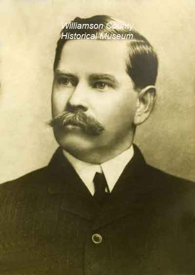 William F Robertson County Judge 1896-1900