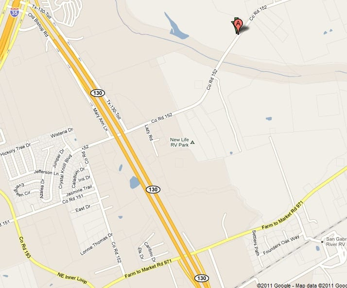 Berry_Springs_Cemetery_road_map