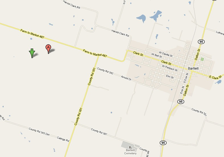 Durant_Family_Cemetery_road_map