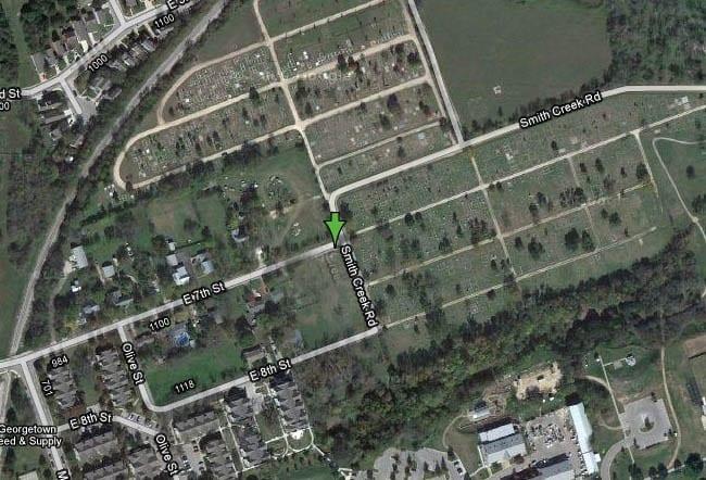 IOOF_Georgetown_map