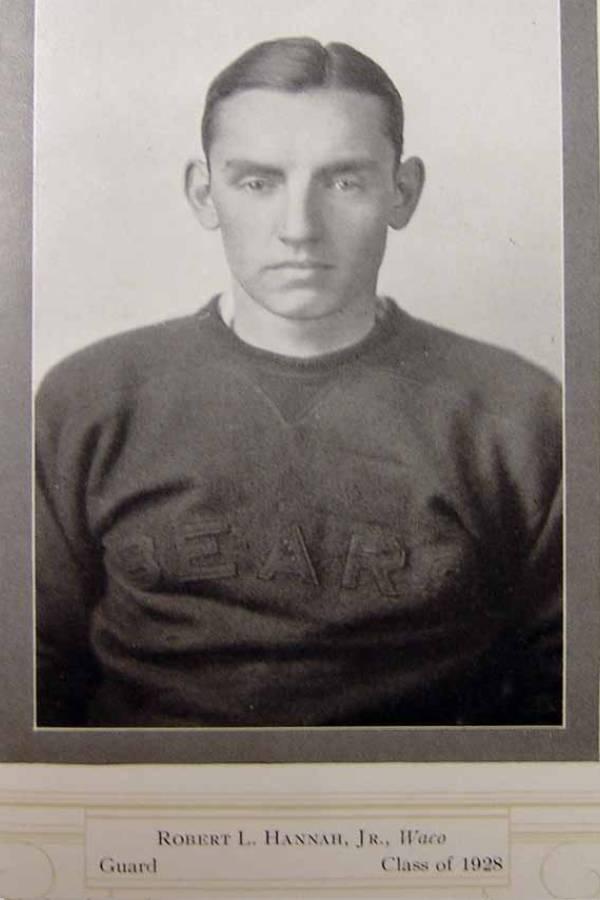 Robert L Hannah Jr. of Waco