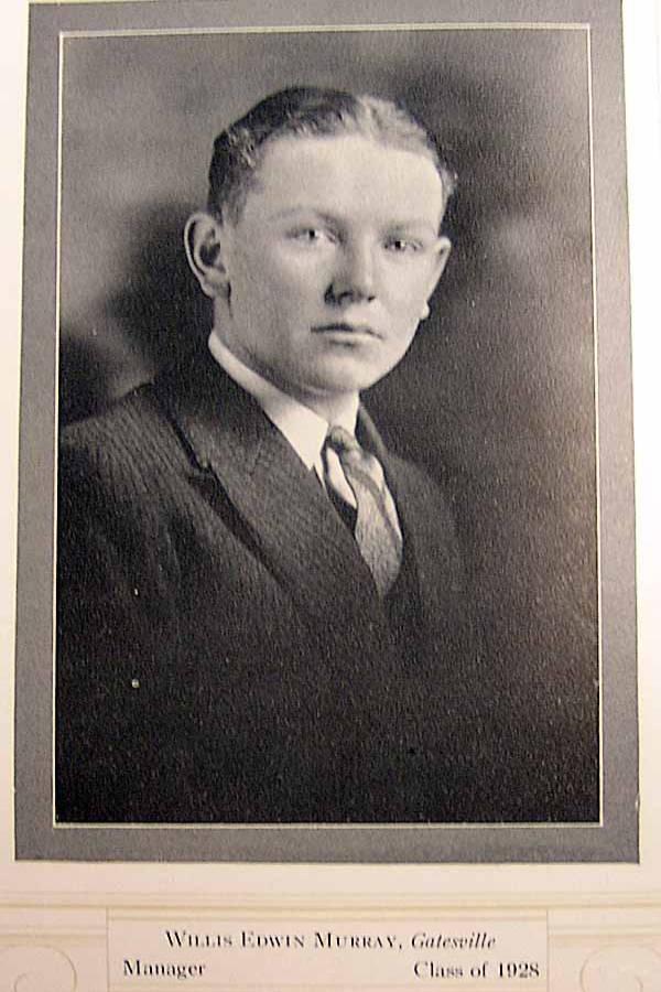 Willis Edwin Murray of Gatesville